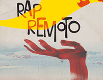 RAP REMOTO illustration & design LP record