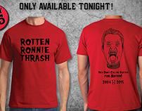 Rotten Ronnie Thrash t-shirt design