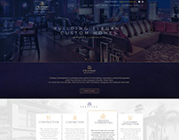 Chateau Development Home page design