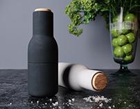Menu Bottle Grinder Set - Free model & scene download