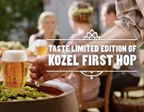 Velkopopovicky Kozel: First Hop
