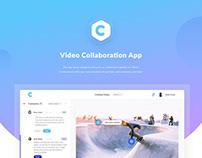 Video Collaboration App