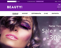 Online cosmetics store