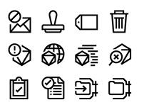 Windows Mail Icons