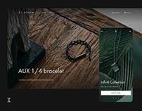 L.Novum e-commerce website design
