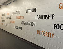 RIT Athletics - Pride Wall