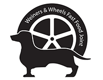 Weiners & Wheels Fast Food Business Identity Packages
