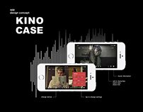 Online Cinema Mobile App Design Concept