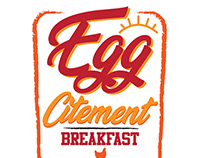 "LOGO/MENU BRANDING - ""Egg Citement"""