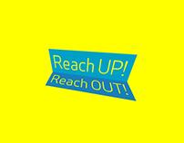 Reach up! Reach out!