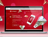 Web Design for EuroGagnant
