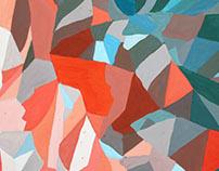Fall 2015 Design: Gouache Studies