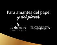 Diseño Campaña El Cronista + Solanas
