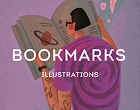 Bookmarks for books for MagniArt