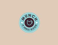 Munch Cafe - Brand Identity