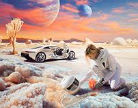 Out Of Our World - Jaguar Concept Car