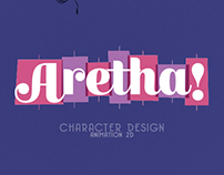 Aretha! Character Design