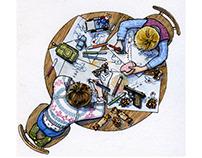 Book illustrations: stories for children (in progress)