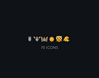 The rankings icons