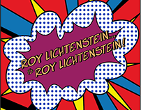 Roy Lichtenstein is Roy Lichtenstein