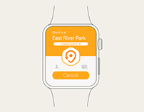Swarm: The Check-in App by Foursquare | watchOS Concept