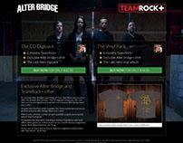 TeamRock - Alter Bridge Promo Page