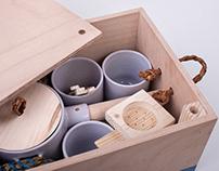 MAACRAFT × KEZEMURA Tea set