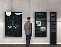 Un toit pour le Forum | Exposition