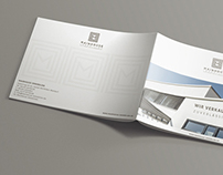 Real estate sales and rental print brochure.
