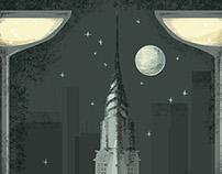 The Big City Midcentury Invite Design