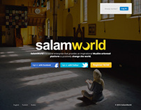 SalamWorld | Modern Islamic Social Network