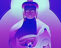 Buddha chillgraph