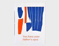 You have your father's eyes