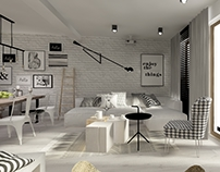 ground floor interior ~ scandinavian style