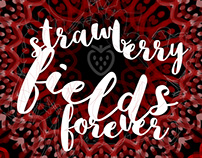 """Strawberry fields forever"" / Sing me a poster - 2016"