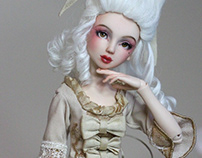 Rococo ball jointed doll
