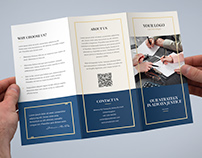 Brochure – Law Firm Tri-Fold Template