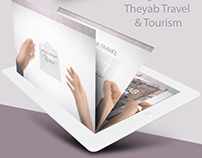 Design TV ad ALTheyab Travel & Tourism تصميم اعلان تلف
