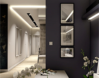 Project in Warsaw residential Central Park Ursynów 86m2