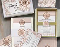 Classic Wedding Invitation Set (FOR SALE)