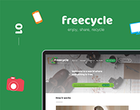 Freecycle - redesign