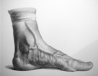 my foot 1- just with parallel lines