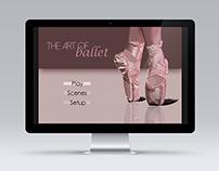 Ballet DVD Screen