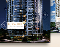 Luxury apartment complex Busov Hill - Promo site
