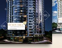 Luxury apartment complex Busov Hill - Promo site