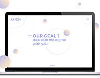 Milch | UX.UI design