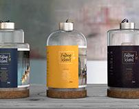 PACKAGING | Falling Rocket vintage LED light bulb brand