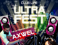Flyer/Poster Design: Ultra Fest
