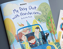 My Day Out with Handycam - Activity Book for SONY