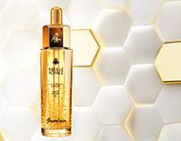Guerlain abeille royale CGI